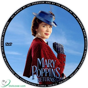 Mary Poppins Returns 2018 Label Dalicover